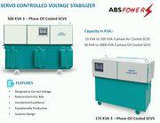 Affordable Servo Stabilizer Manufacture in Chandigarh