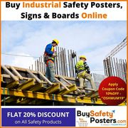 Buy Safety Posters,  Signs & Boards Online