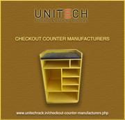 Apparel rack manufacturers  Checkout counter manufacturers