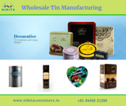 Tin plate packaging | Printed Tin Containers Suppliers,  Manufacturers